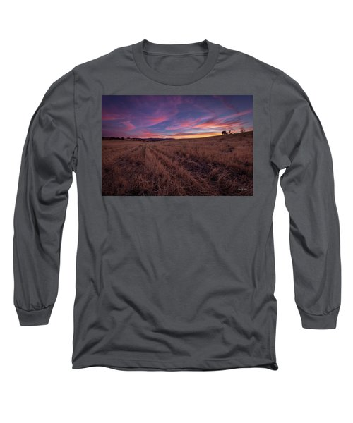 On An  Evening In July Long Sleeve T-Shirt