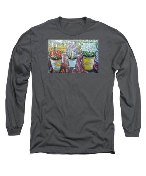 On Grandma's Porch Long Sleeve T-Shirt