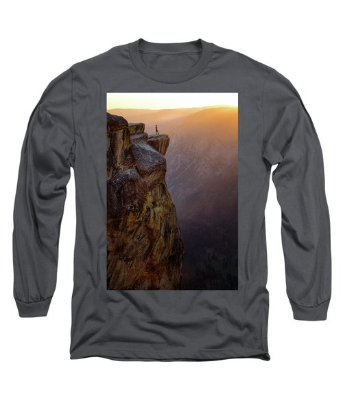 On The Edge Long Sleeve T-Shirt by Nicki Frates