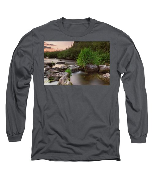 On The Edge Of Time Long Sleeve T-Shirt