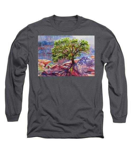 Living On The Edge Long Sleeve T-Shirt