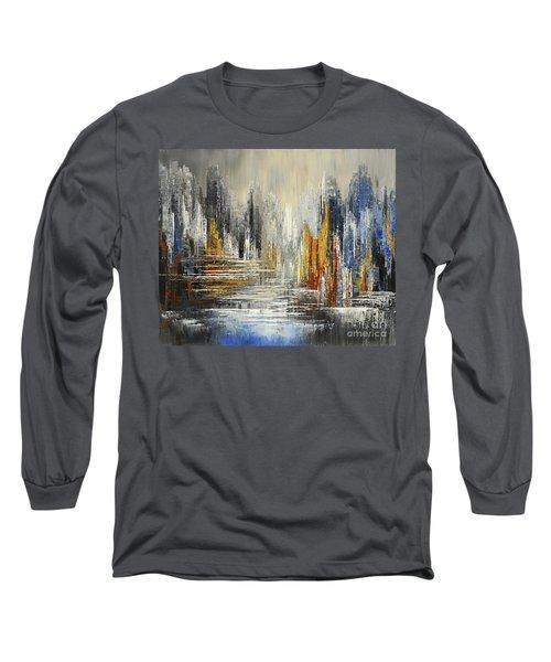 On The Hills Of Dream Long Sleeve T-Shirt by Tatiana Iliina