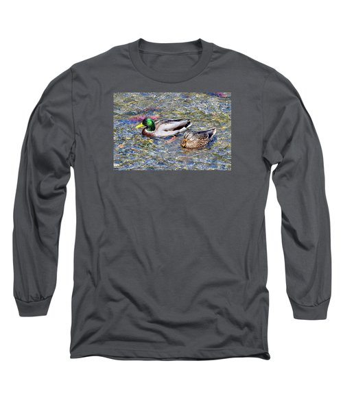 Long Sleeve T-Shirt featuring the photograph On The Hunt by David Lawson