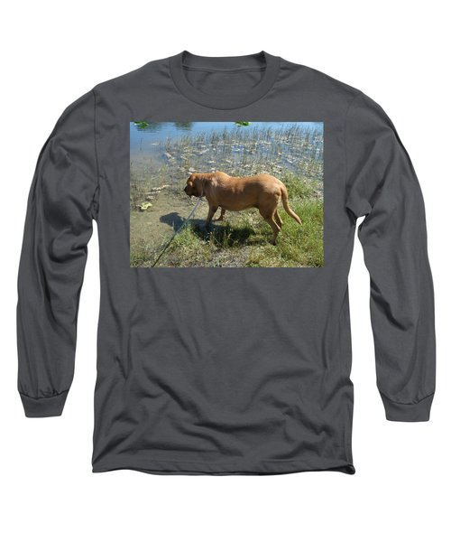 On The Hunt Long Sleeve T-Shirt by Val Oconnor