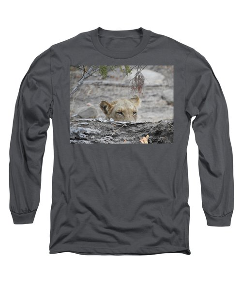 Long Sleeve T-Shirt featuring the photograph On The Lookout by Betty-Anne McDonald