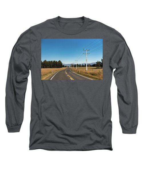 Long Sleeve T-Shirt featuring the photograph On The Road by Gary Eason