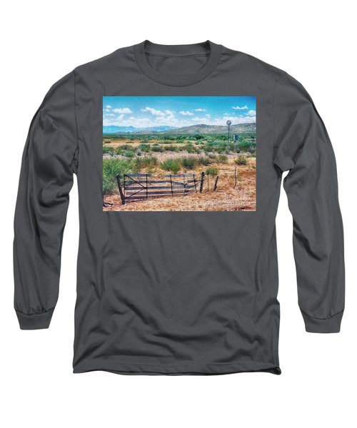 On The Texas Plans Long Sleeve T-Shirt