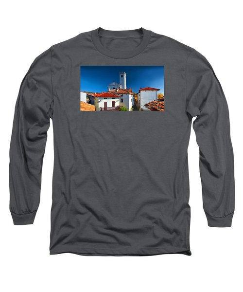 On The Tiles Long Sleeve T-Shirt by Graham Hawcroft pixsellpix