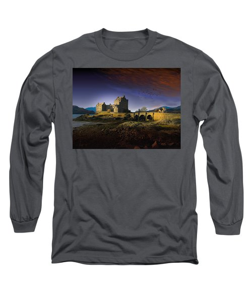 On The Way Home Long Sleeve T-Shirt by J Griff Griffin