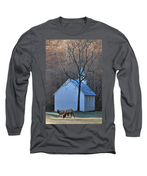 On The Way To Church Long Sleeve T-Shirt