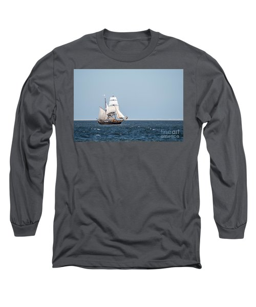 on the way to Texel Long Sleeve T-Shirt by Hannes Cmarits