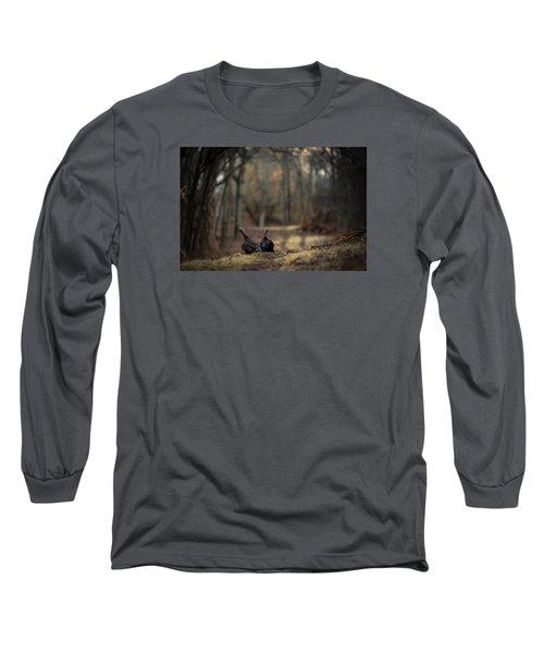 On The Woodlot Path Long Sleeve T-Shirt