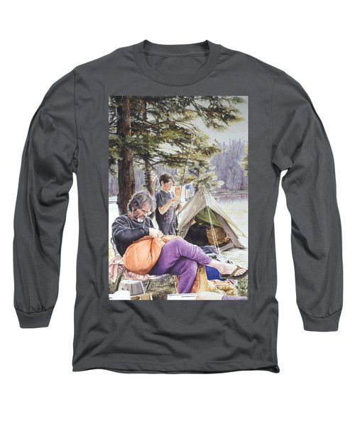 On Tulequoia Shore Long Sleeve T-Shirt