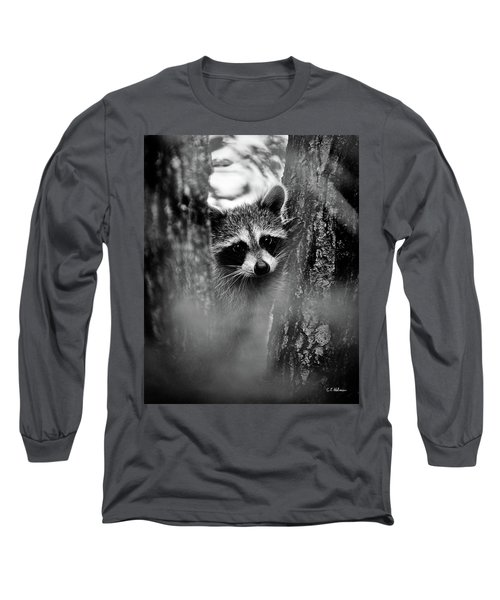 On Watch - Bw Long Sleeve T-Shirt