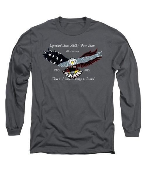 Once A Marine Long Sleeve T-Shirt
