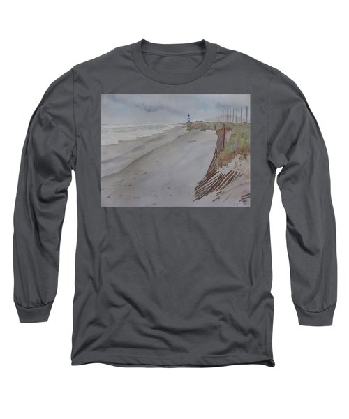 Once There Was A Lighthouse Long Sleeve T-Shirt by Joel Deutsch