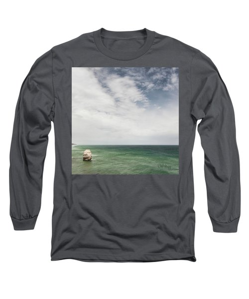 Long Sleeve T-Shirt featuring the photograph One Apostle by Joseph Westrupp