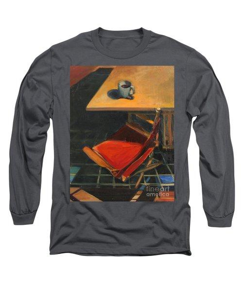 One Cup Long Sleeve T-Shirt by Daun Soden-Greene
