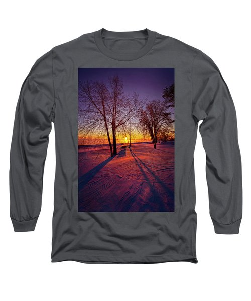 Long Sleeve T-Shirt featuring the photograph One Day Closer by Phil Koch