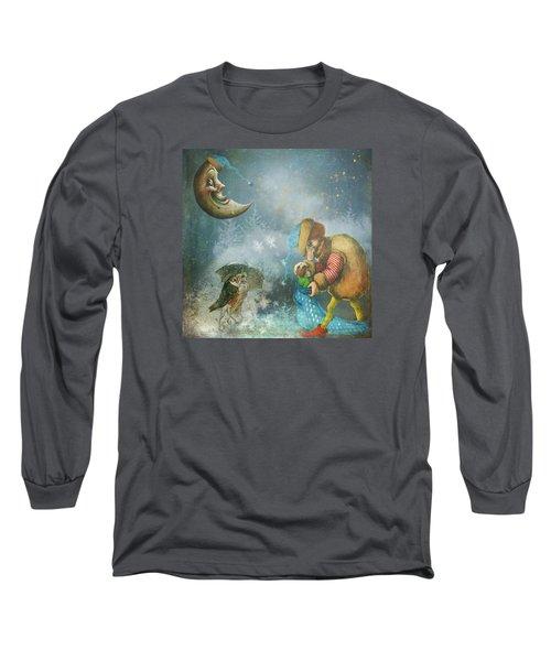 One Enchanting Evening Long Sleeve T-Shirt by Diana Boyd