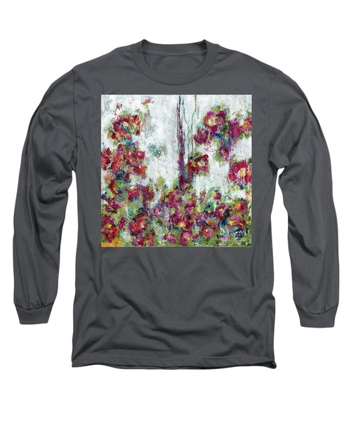 One Last Kiss Long Sleeve T-Shirt by Kirsten Reed