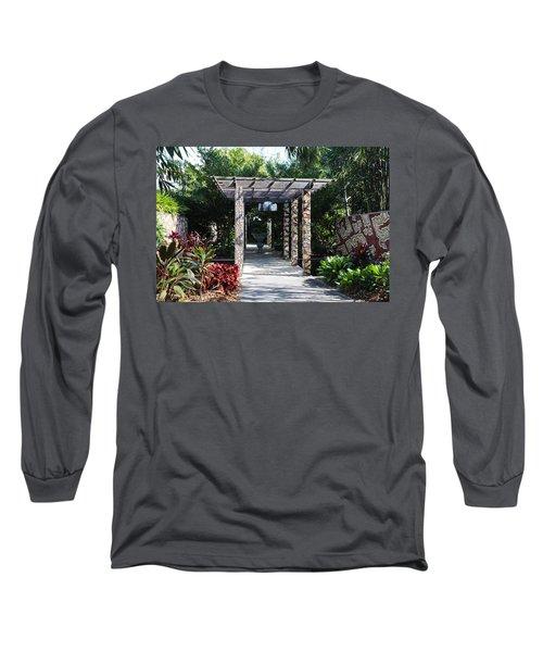 One Long Embrace- Horizontal Long Sleeve T-Shirt
