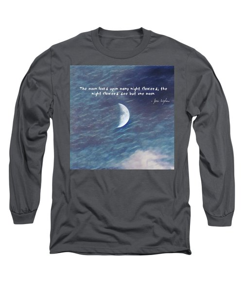 One Moon Long Sleeve T-Shirt