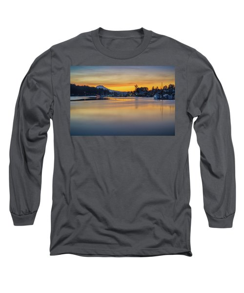 One Morning In Gig Harbor Long Sleeve T-Shirt by Ken Stanback