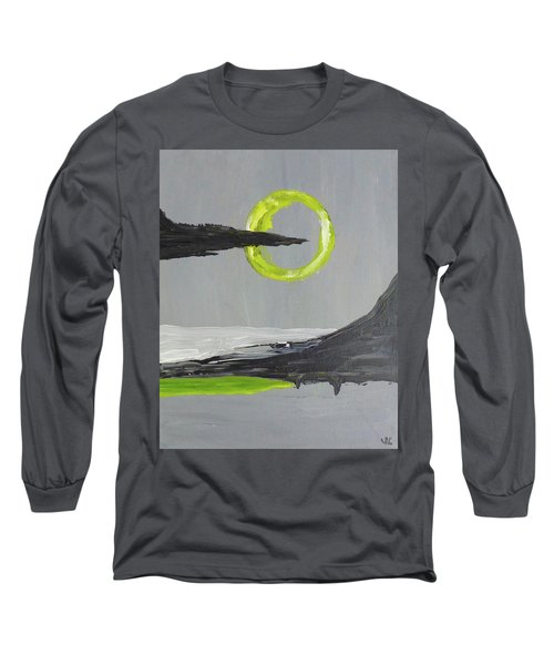 Long Sleeve T-Shirt featuring the painting One Of Those Days by Victoria Lakes