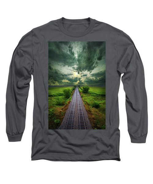 Long Sleeve T-Shirt featuring the photograph Onward by Phil Koch