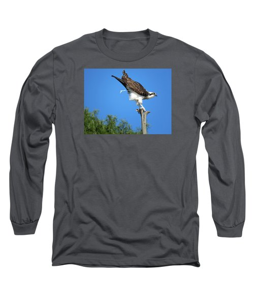 Long Sleeve T-Shirt featuring the photograph Oops by Phyllis Beiser