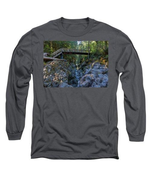 Opal Creek Bridge Long Sleeve T-Shirt
