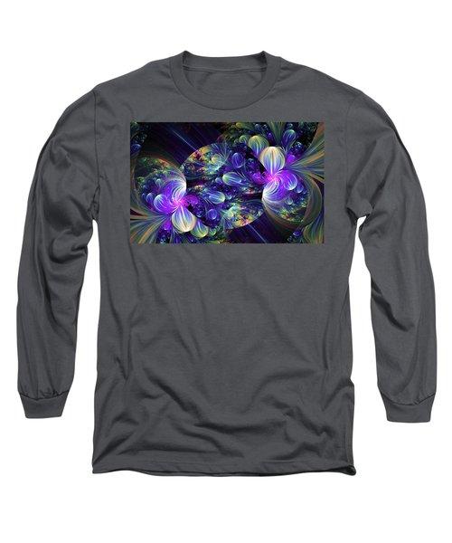 Opal Essence Long Sleeve T-Shirt by Lea Wiggins