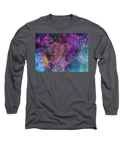 Open Geometric Long Sleeve T-Shirt