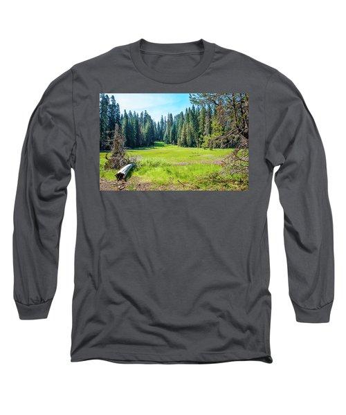 Open Meadow- Long Sleeve T-Shirt
