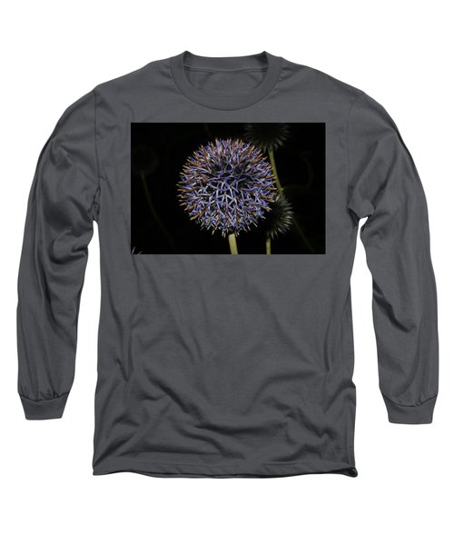 Opened Globe Thistle  Long Sleeve T-Shirt