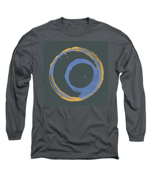 Orange And Blue 3 Long Sleeve T-Shirt