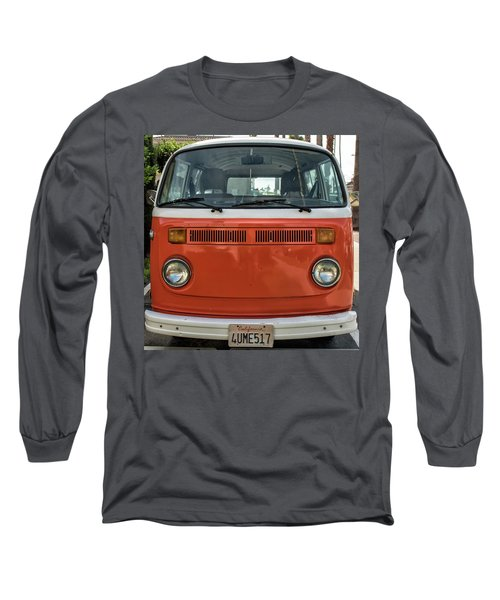 Orange Bus Long Sleeve T-Shirt