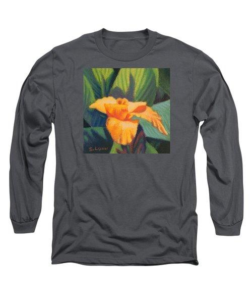 Orange Cannas Long Sleeve T-Shirt