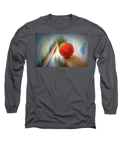 Orange #g4 Long Sleeve T-Shirt