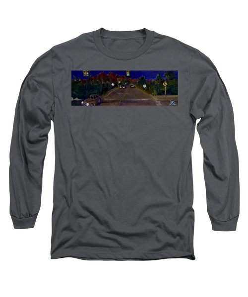 Orange Grove And La Canada Long Sleeve T-Shirt by Julie Todd-Cundiff