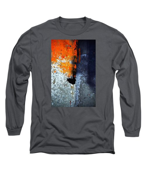 Orange Long Sleeve T-Shirt by Newel Hunter