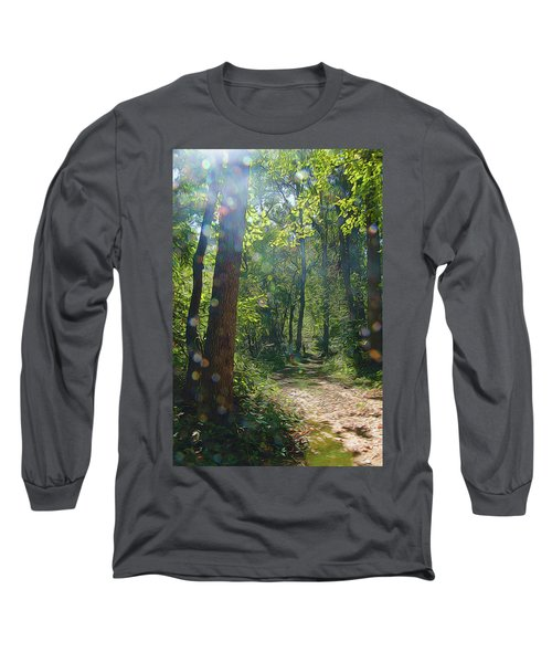 Orbs In The Woods Long Sleeve T-Shirt