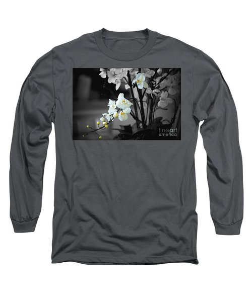 Orchid Selective Color Long Sleeve T-Shirt
