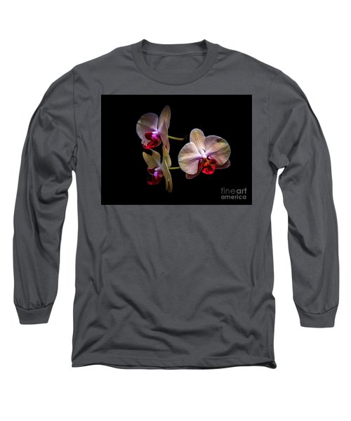 Orchid Trio  Long Sleeve T-Shirt
