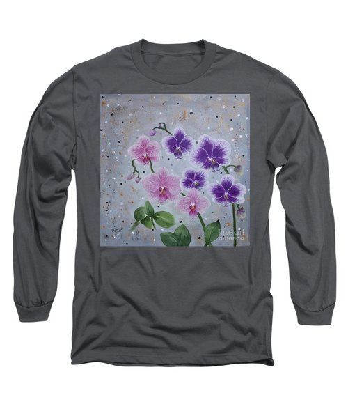 Orchids Galore Long Sleeve T-Shirt