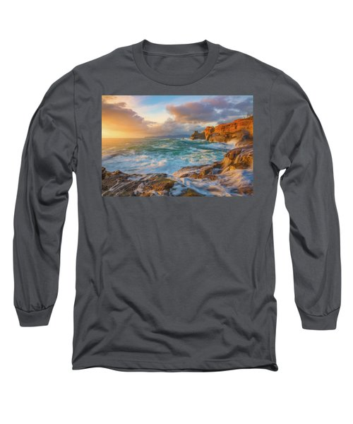 Long Sleeve T-Shirt featuring the photograph Oregon Coast Wonder by Darren White