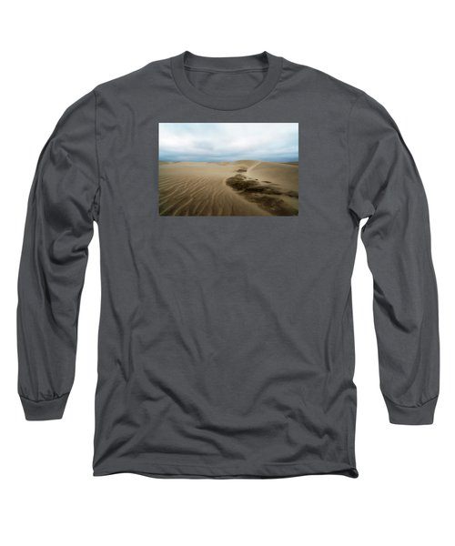 Long Sleeve T-Shirt featuring the photograph Oregon Dune Wasteland 1 by Ryan Manuel