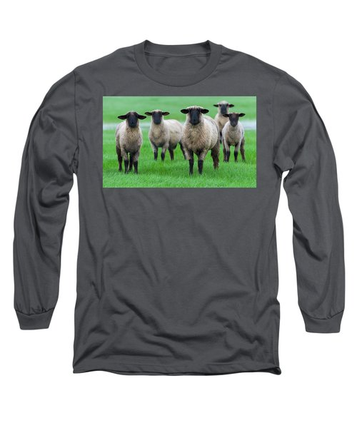 Family Photo Long Sleeve T-Shirt by Scott Warner