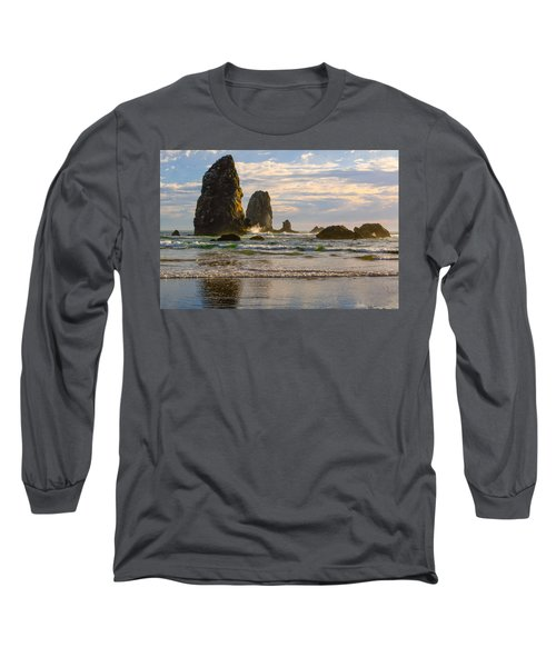Oregon Sea Stacks Long Sleeve T-Shirt